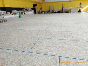 江苏扬州海兰德琼花篮球馆运动地板铺装案例