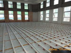 遵义仁怀市茅台文体中心体育地板安装案例