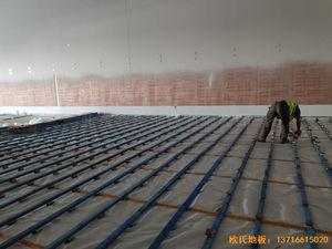 北京环球影城运动地板安装案例