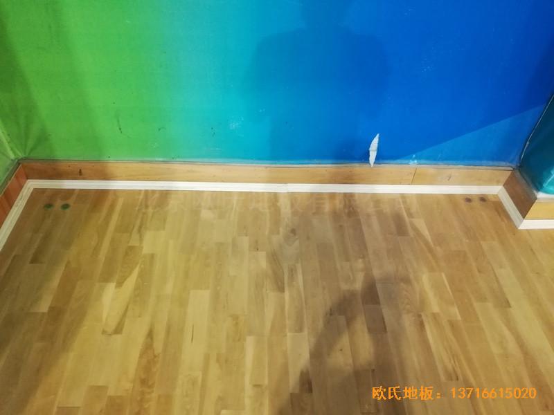 赣州体育馆运动木地板铺设案例
