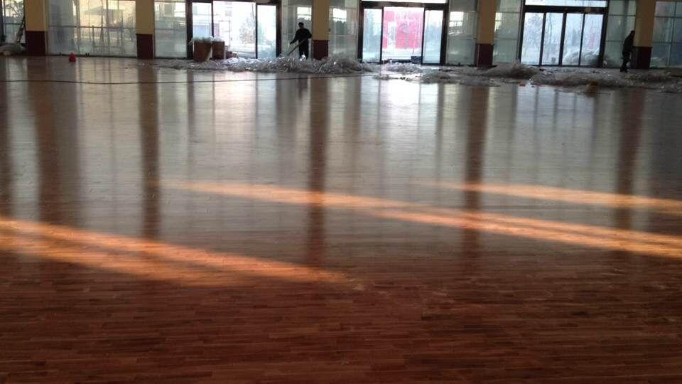 运动木地板如何安装