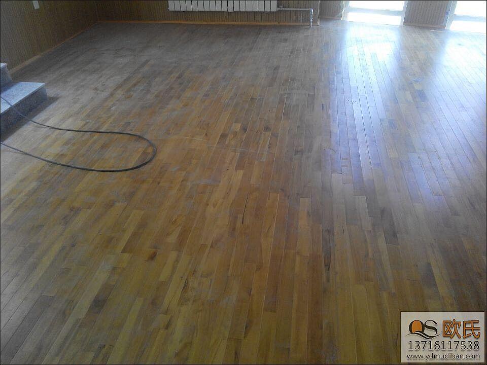 分类不同运动木地板价格也不同