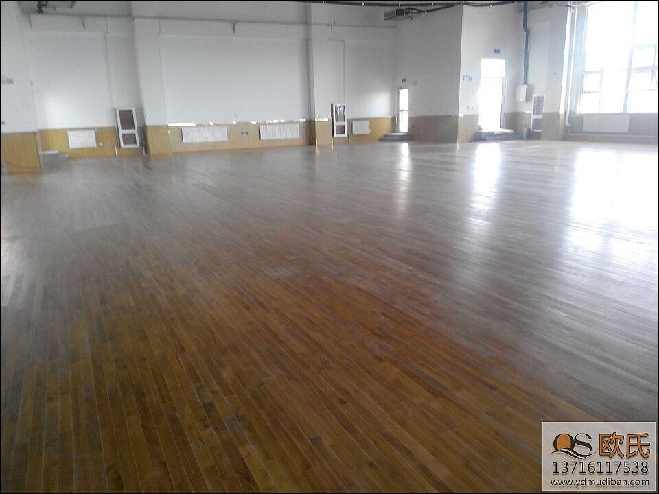 运动木地板翻新的施工工艺流程