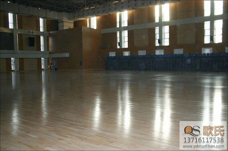 体育木地板施工安装原则及条件说明