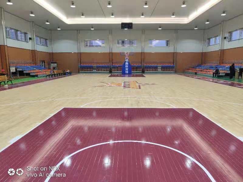 关于篮球场木地板场地遇到的问题简介