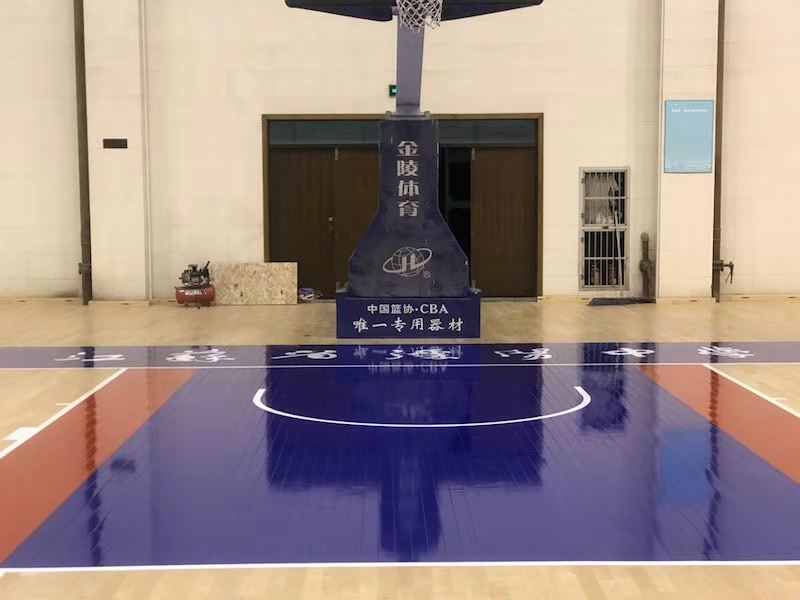 铺装篮球场木地板需要多长时间