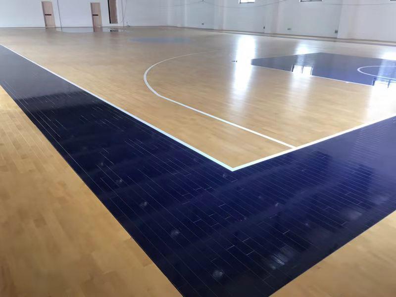 较好的的篮球木地板方案怎样设计