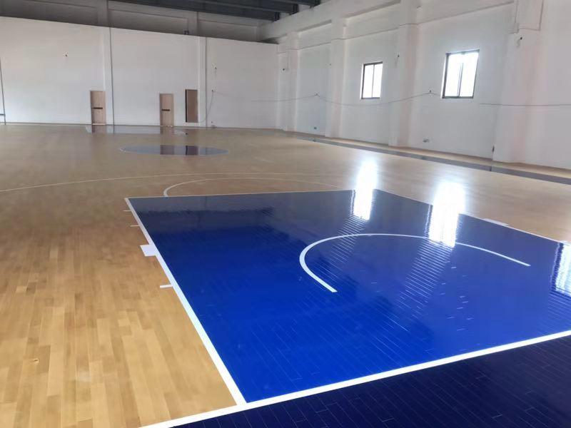 体育场专用木地板 篮球场运动木地板怎么翻新