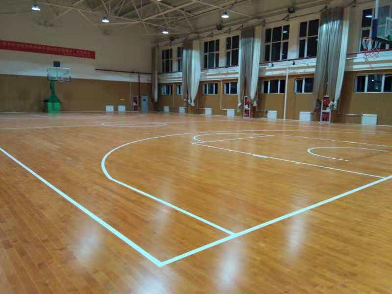 其它实木体育运动场馆地板施工方案