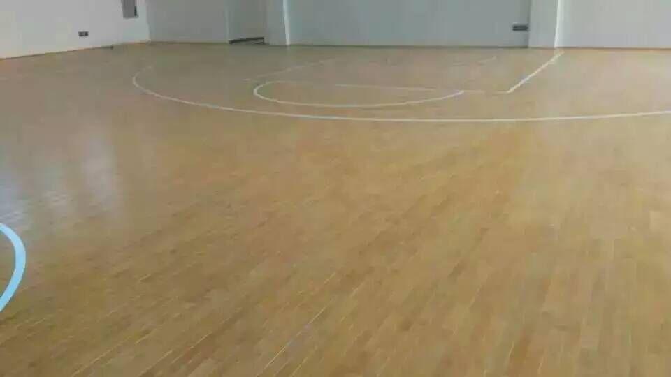 河南安阳翰林小学运动木地板工程出色完工