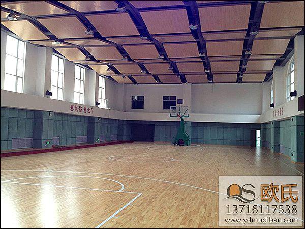石家庄第十二中学新校区运动木地板成功案例