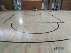 枫桦木篮球运动地板保养知识