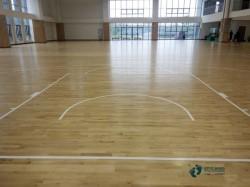 一般篮球体育地板施工队