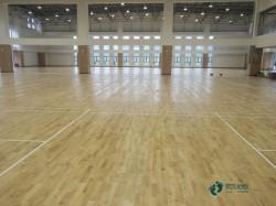 一般运动场地地板施工步骤